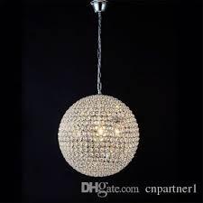 modern round ball iron chandelier diameter 15cm 20cm 30cm 50cm 60cm led lamps simple crystal chandeliers led re pendant lamp lighting plastic chandelier