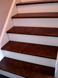 Redo Stairs Cheap Brown Paper Stairs Walnut Stain Building Ideas Pinterest