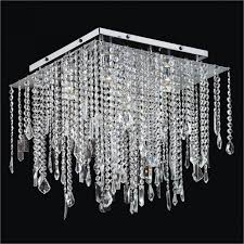 crystal ceiling light fixture cityscape 598 glow lighting with square flush mount crystal chandelier
