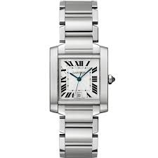 cartier tank française watch large model automatic steel the tank française watch large model automatic steel fine timepieces for men and for women cartier getting this for the hubby