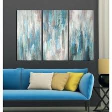 3 piece wall art sets 3 piece canvas wall art sets 7 hand painted sea of