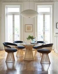 curly crushing on platner chairs warren platnerdining room setsdining tablenavy