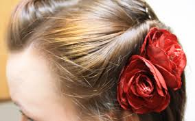 How To Make A Hair Style how to make a hair flower or brooch clip thelifeoflulubelle 8922 by wearticles.com