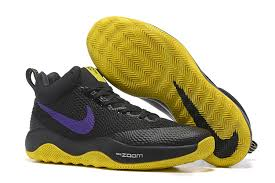 nike basketball shoes 2017. nike hyperrev 2017 black yellow purple mens basketball shoes