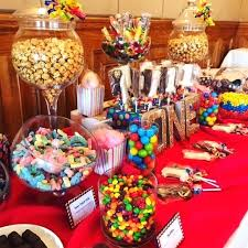50th Birthday Party Candy Table Decoration Etassinfo