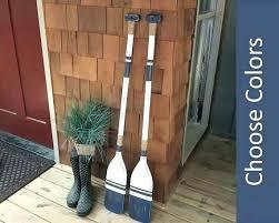 oars wall decor oar wall decor decorative boat oars on wall wooden oars pair of oars oars wall decor