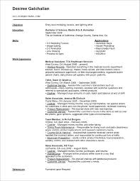Example Of A Medical Assistant Resumes Resume Awesome Administrative Assistant Resume Sample