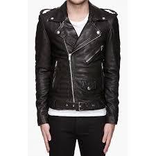 men s asymmetrical biker black leather jacket zoom men s asymmetrical