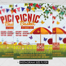 Picnic Template Free Picnic Flyer Template Wiisportsleagues Com