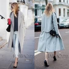 grey black winter coat women womens wool coat trench oversize warm coat european womens clothing new