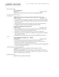 Double Major On Resume Creative 8 How List Type Exaple Cv Examples