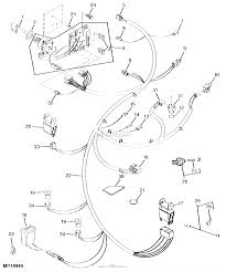 John deere parts diagrams john deere 345 lawn garden tractors without mower deck pc2428 main wiring harness 325 070000 electrical
