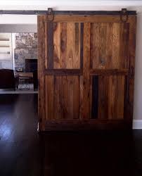 contemporary home office sliding barn. Rustic Home Office Decorating Ideas Shocking Sliding Barn Door For Living Room Contemporary Design With