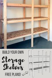 how to make cheap storage shelves. DIY Shed Shelving With Image From Free Woodworking Plans Inside How To Make Cheap Storage Shelves