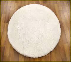 Round White Bath Rug Roselawnlutheran