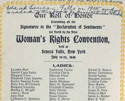 the declaration of sentiments by the seneca falls conference  the declaration of sentiments by the seneca falls conference 1848