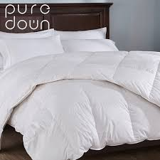 Aliexpress.com : Buy Puredown 15% Fill White Goose Down Duvet ... & Puredown 15% Fill White Goose Down Duvet Feather Down Quilt Four Season Warmth  Comforter 10.5 Adamdwight.com