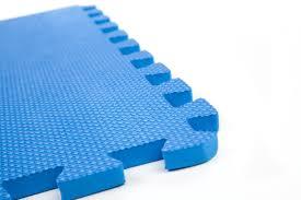 30 x 30 cm small blue interlocking eva soft foam exercise
