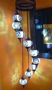 turkish mosaic chandelier spiral mosaic chandelier turkish mosaic chandelier canada