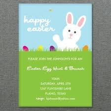 Easter Template Easter Template Easter Egg Hunt Invitation Download Print