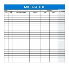 Mileage Book Mileage Log Template For Self Employed Daily Book Gulflifa Co