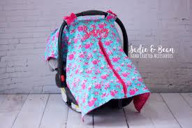 diy infant car seat cover pattern no