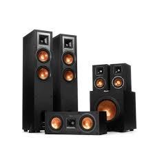 klipsch surround sound speakers. klipsch r-24f home theatre speaker pack surround sound speakers n
