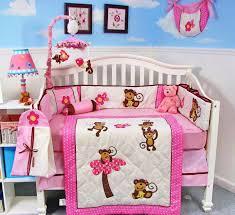 monkey themed girls nursery bedding canada