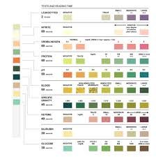 Multistix Color Chart Urine Analysis Multistix Colour Chart And Stick These Imag