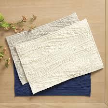 Faux Bois Quilted Placemats - Set of 4 | Ballard Designs & Faux Bois Quilted Placemats - Set of 4 Adamdwight.com