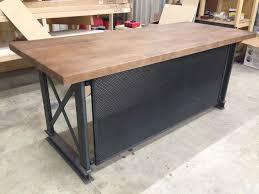 modern industrial design furniture. The Industrial Carruca Office Desk - Large Executive Modern Design Furniture