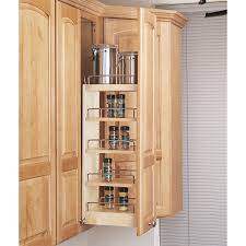 Rev A Shelf 8 In W X 2625 In 1 Tier Wood Cabinet Shelf At Lowescom