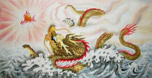 chinese paintings dragon dragon 66cm x 136cm 26 x 53 4743001 z