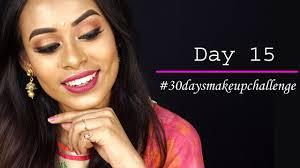 simple indian wedding makeup tutorial day 15 30daysmakeupchallenge