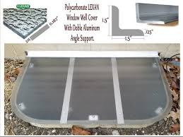 basement window well covers diy. How To Measure For Window Well Covers-HandyManny Basement Covers Diy T