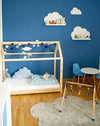 IKEA Kinderzimmer Limmaland Wolkenregale Und Hausbett