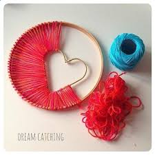 Dream Catchers Make Your Own Heart of Hope Dreamcatcher Diy dream catcher Dream catchers and 67