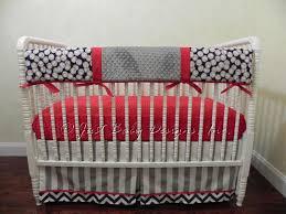 baseball crib bedding set corey boy baby rail magnificient lively 6
