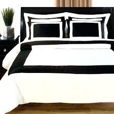 black and white duvet covers king cover twin amazing hotel in regarding remodel set