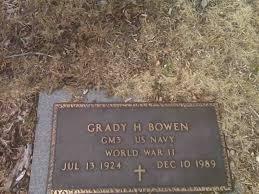 Grady H. Bowen (1924-1989) - Find A Grave Memorial