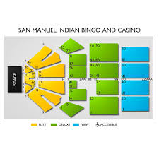 San Manuel Indian Casino Seating Chart San Manuel Indian Bingo Casino Tickets