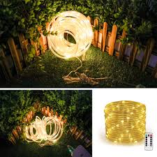 Usb Powered Outdoor Lights Upstone Rope String Lights Usb Powered Dimmable Warm White Waterproof 33ft 100 Led Indoor Outdoor Light Rope And String For Deck Patio Bedroom