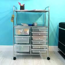 storage cart on wheels storage cart on wheels 3 drawer with mini drawers plastic slim a storage cart on wheels