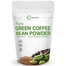 Green coffee bean powder (1 oz, zin: Pure Green Coffee Bean Super Extract Powder 50 Active Chlorogenic Acid 4 Ounce Walmart Com Walmart Com