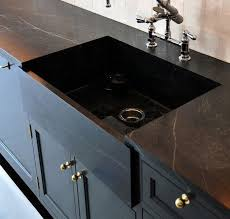 remodeling the intel on black marble countertops remodelista intended for designs 23