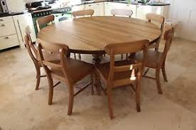 round dining table for 8. Beautiful Table Image Is Loading 10seaterLargeRoundDiningTable8chairs Throughout Round Dining Table For 8