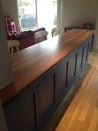 walnut butcher block countertops country mouldings in birch countertop remodel 9