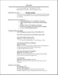 Quality Analyst Cv Analyst Sample Myperfect Business Cv Template Senior Lytte Co