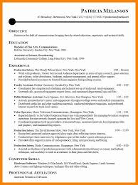 8 Sample Intern Resumes Sap Appeal