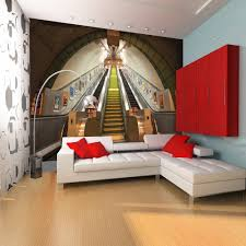 London Bedroom Wallpaper 1 Wall Giant Wallpaper Mural London Underground Subway 315m X 232m